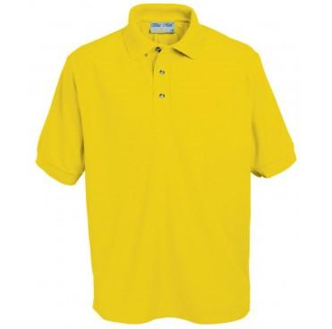 efd5678a5 Highfield Community Primary School. Polo Shirt (Bluemax) Gold ...